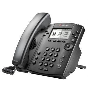Polycom VVX 301 and 311 entry level IP telephone