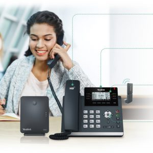 Yealink-W41P DECT IP phone and base bundle