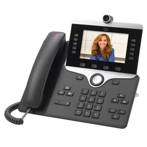 Cisco 8845 business video IP SIP phone