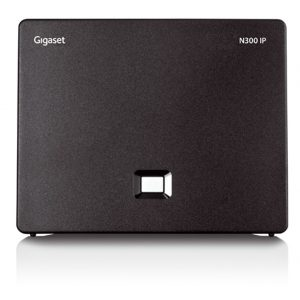 Gigaset N300 IP is the easy-to-configure hybrid DECT IP base station