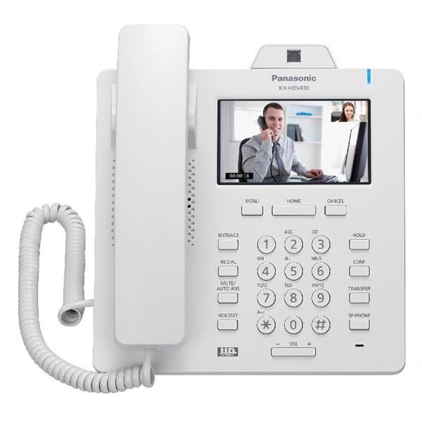 Panasonic HDV430 White IP Video Phone