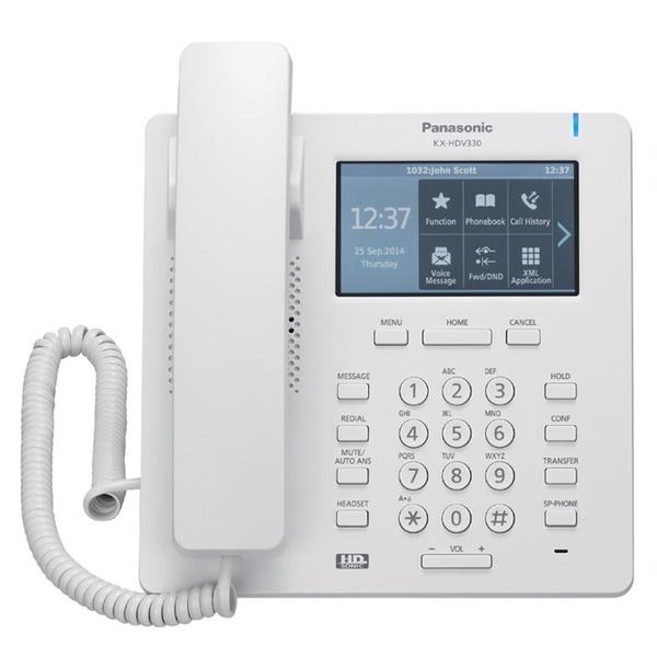 Panasonic KX-HDV330 HD White IP desk phone