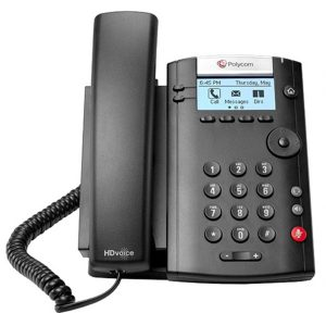 Polycom VVX 201 Simple IP Desk Phone