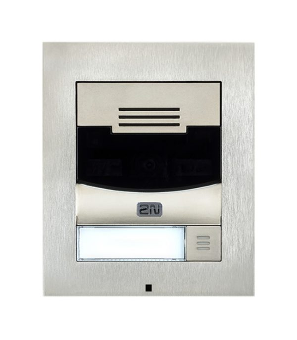 stainless steel 2n video ip door access intercom