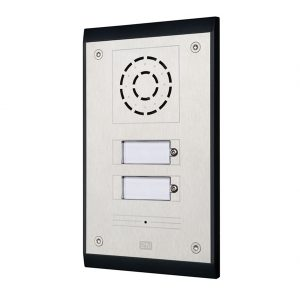 2 button weatherproof door entry intercom