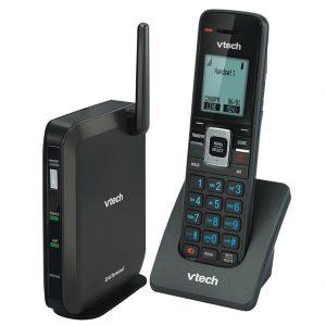 VTech SIP telephone base station and handset