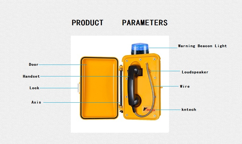 knsp03 emergency beacon hotline telephone features