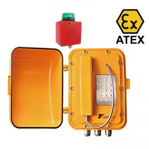 KNEX06 Waterproof EX Atex Certified Telephone