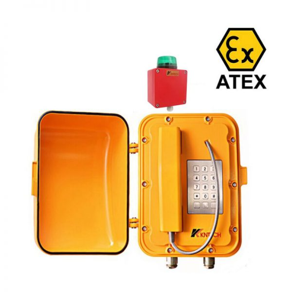 KNTech IP Atex Certified Telephone