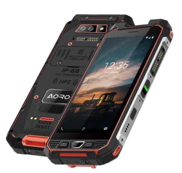 Aoro M5 EX zone 1 and zone 2 orange phone